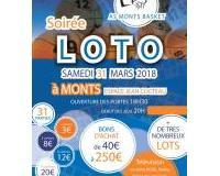 Loto de l'AS Monts Basket