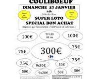 SUPER loto spécial Bons d'achats