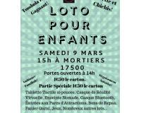 Loto Pour Enfants, Nombreux Lots!
