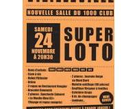 Super loto du comité des fêtes Mourioux-Vieilleville