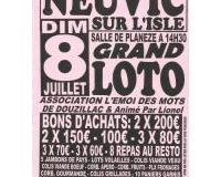 GRAND LOTO de l'Asso L'EMOI DES MOTS de Douzillac