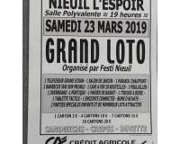 Grand loto de Festi'Nieuil