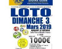 LOTO GEANT DU LIONS CLUB NOGENT LE ROTROU