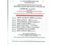 Hyper loto de Saint Nicolas
