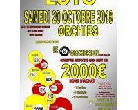 loto  2000€ de bons d'achat Orchies