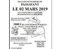 SUPER LOTO DES POMPIERS DE PASSAVANT