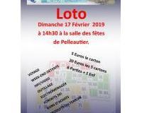 Super loto du Club Bouliste de PELLEAUTIER