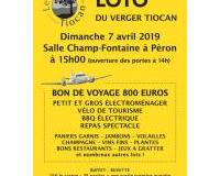 Grand loto du Verger Tiocan