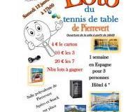 LOTO du tennis de table de Pierrevert