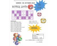 SUPER LOTO - 1er lot = 900 € chèque CADHOC