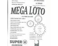 MEGA LOTO - plus de 9 000 euros de Lots, animé par Marie-JP