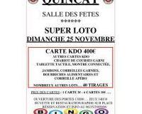 Super Loto handball club Biard animé par Hélène