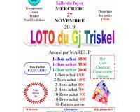 Loto du GJ Triskel Nord Morbihan