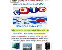 GRAND LOTO du LIONS CLUB Pays de la St Baume 08/03/2020