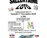 Loto sallertaine tennis de table