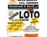Super loto animé par Louis