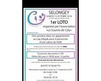 1 er loto organisé par l'association LE SOURIRE DE CALY