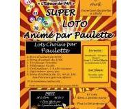 SUPER LOTO organisé et animé par Paulette