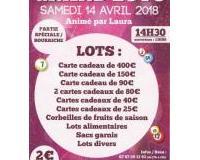 Super Loto Club de l'Amitié à (14H30)