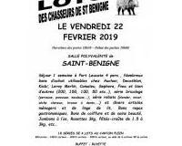 LOTO des chasseurs de Saint Bénigne