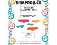 Grand LOTO de Impro&Co à Saint Georges d'Espéranche