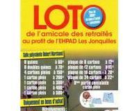 """Loto de l'amicale des retraités au profit de l'EHPAD """"Les Jonquilles"""""""
