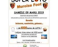 MUROISE FOOT SUPER LOTO (voyage 1200 euros...)