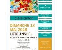LOTO ANNUEL DU GROUPE MUSICAL DES ACHARDS