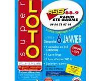 SUPER LOTO RADIO SAINTE BAUME 88 .90 FM