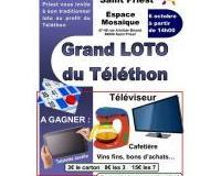 Loto au profit du Téléthon Saint Priest