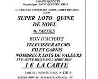 SUPER LOTO QUINE DE NOEL