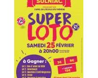 SUPER LOTO organisé par l'APEL Ecole Ste Thérèse à Sulniac
