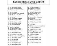 Loto Bingo du printemps du Comité des Fêtes de La Taouziole