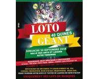 LOTO GEANT 40 QUINES / 5000€ DE LOTS