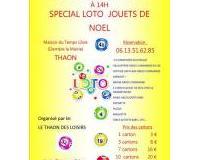 SUPER LOTO SPECIAL JOUETS DE NOEL