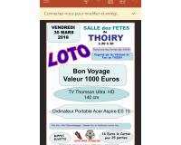 Loto des Vétérans du Football de Thoiry  (01)