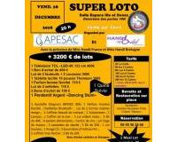 SUPER LOTO + 3200€ de lots à gagner , 56 tirages ,1 Quine , 1 MAXI lot Surprise