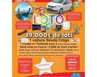 Loto géant 39.000 € de lots : voiture, voyage, iPhone, BA…