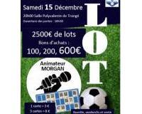 Super loto du Trangé Football Club - 15 décembre 2018