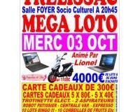 MEGA loto Trélissac 03 octobre