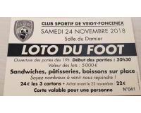LOTO DU CLUB DE FOOT