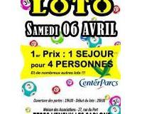 Super LOTO _ 1 SEJOUR pour 4 PERSONNES à CENTER PARCS!!!