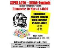 Super loto-bingo uniquement chèques cadeaux muliti surface