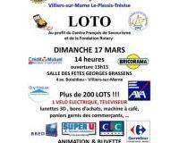 Grand Lot du Rotary Club Villiers Le Plessis