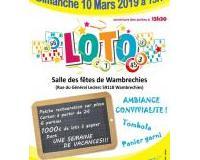 Loto Wambrechies 10 mars 2019