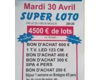 SUPER LOTO 4500€ de lots